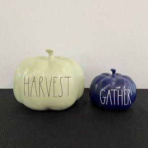 Rae Dunn Pumpkin Halloween Harvest Gather Bundle